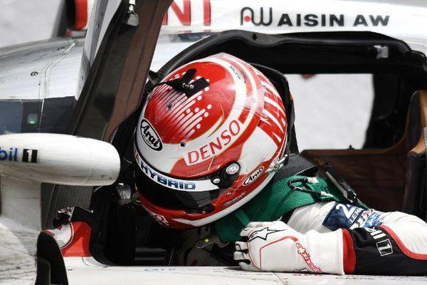 Kazuki Nakajima après la défaite de Toyota aux 24 Heures du Mans 2016