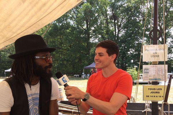 Tété et Jérémy Allebée en Facebook Live au festival Terres du Son