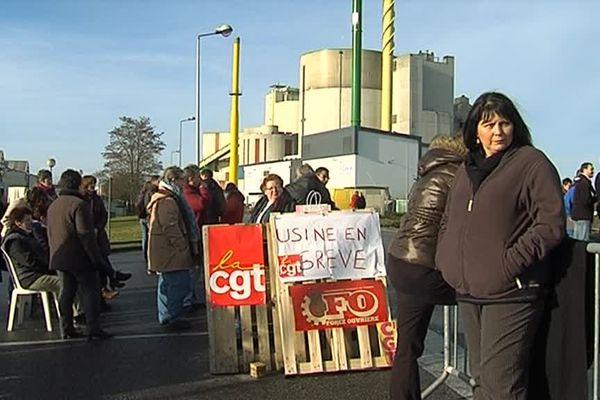 Depuis ce lundi 6 janvier les salariés de l'entreprise basée à Vitry-le-François sont en grève illimitée.