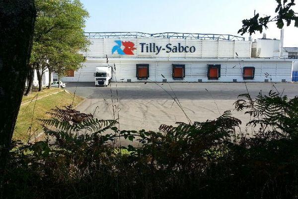 L'abattoir du volailler Tilly-Sabco à Guerlesqu'in (29) tournait au ralenti depuis des semaines