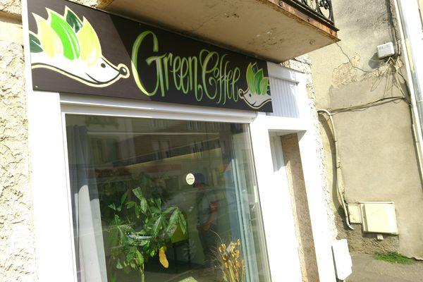 Cette boutique située dans le centre ville de Vesoul a été perquisitionnée.