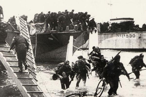 Archives du débarquement du 6 juin 1944.