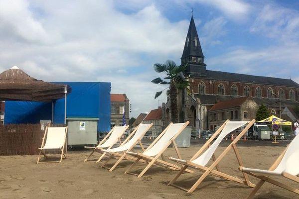 Faubourgs-plage à Saint-Omer