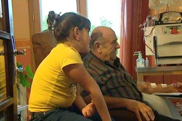 Jean-Marie Cayla et l'appareil de dialyse à domicile