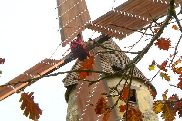 Reportée de mai à octobre, pour cause de Covid, la journée des moulins a tout de même été maintenue dans le département