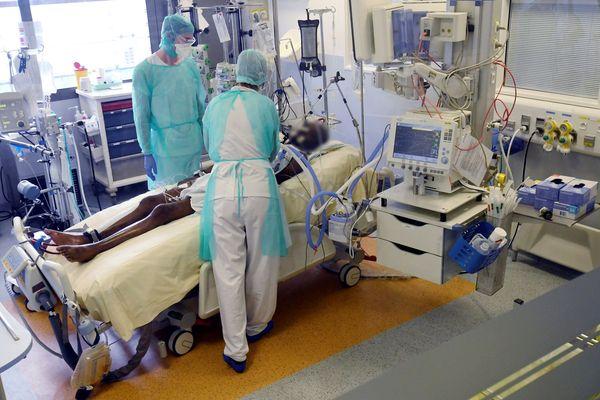 Service de réanimation de l'hôpital de Toulouse Rangueil.