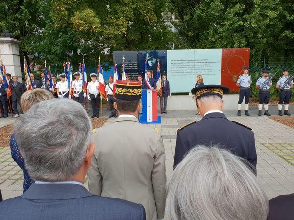 Eric Piolle a rendu hommage aux 48 victimes des charniers de 1944.