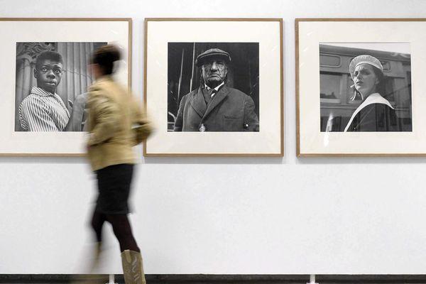 Exposition des photographies de Vivian Maier à Valladolid en Espagne en mai 2013.