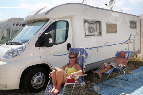 Les touristes en camping-cars en Ariège sont aussi nombreux en septembre qu'en juillet.