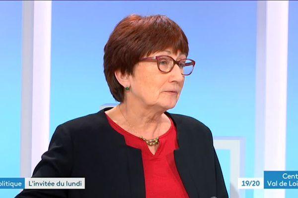 Marie-France Beaufils sur le plateau du 19/20 lundi 9 avril