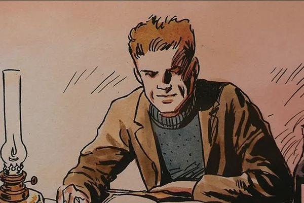 """Illustration de """"L'hôte"""", d'Albert Camus, par le dessinateur Jacques Ferrandez"""