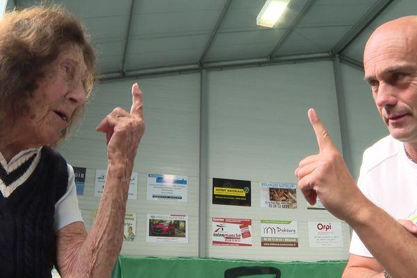Franck Hervy entraîne Hélène Salvetat depuis quatre ans, ils sont devenus amis.