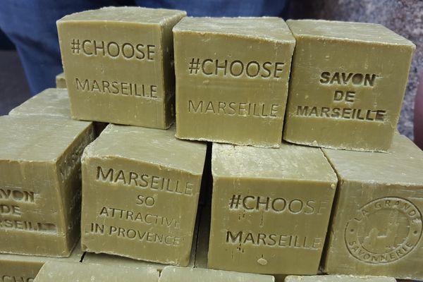Le savon de Marseille, un des symboles de la ville.
