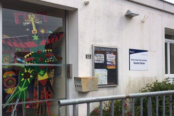 Une école maternelle de Rezé (Loire-Atlantique)