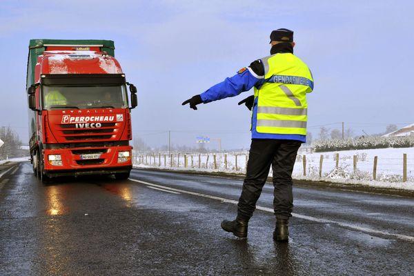 Les poids-lourds interdits de circuler sur la RN102 en Haute-Loire.
