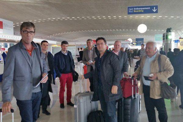 La délégation limougeaude en route pour Chicago