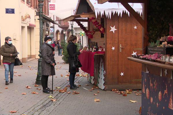 Surprise à Haguenau, quelques cabanons de Noël ont pu ouvrir leurs volets