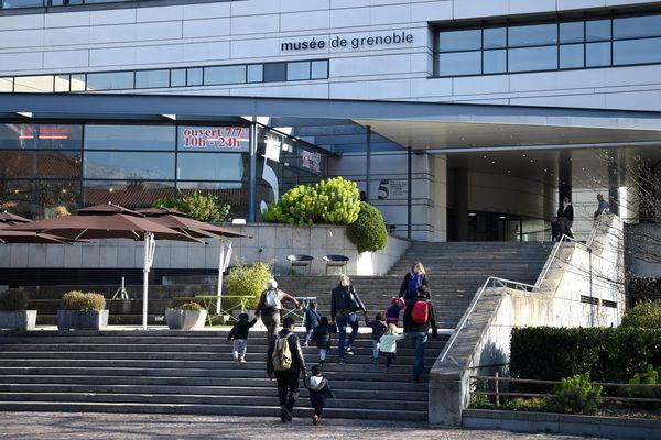 Le Musée de Grenoble est gratuit pour tous les visiteurs pendant la canicule. Photo d'archives.
