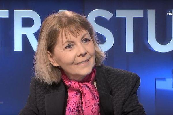 05/12/2018 - Josiane Chevalier préfète de Corse invitée de Cuntrastu.