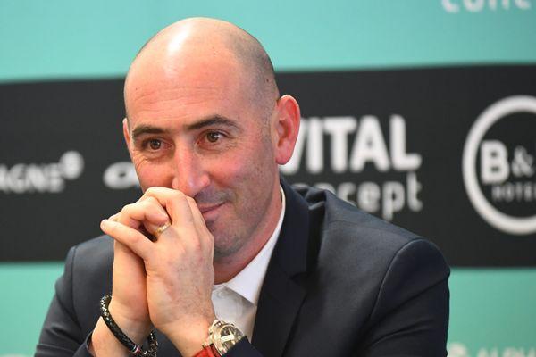 Jérôme Pineau, le manager de l'équipe B&B Hotels - Vital Concept