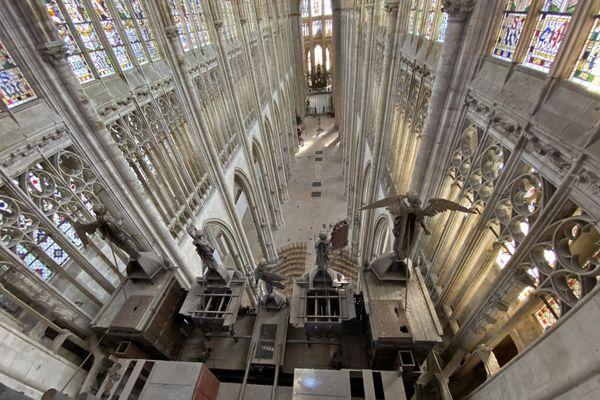 Nef de l'église St Ouen de Rouen
