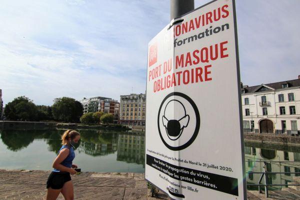 Le port du masque se généralise progressivement dans les Hauts-de-France.