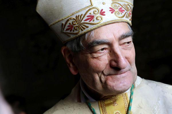 Mgr Christophe Dufour, archevêque d'Aix-en-Provence et d'Arles.