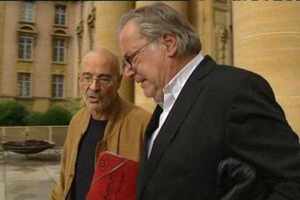 Le docteur Jacques Furlan (à gauche) et son avocat Me Dominique Rondu.