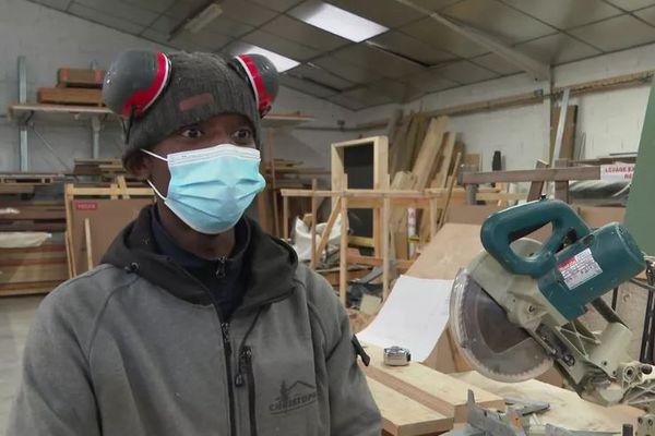 En février dernier, Bangaly Soumah, apprenti charpentier, obtenait un sursis de la part de la préfecture.