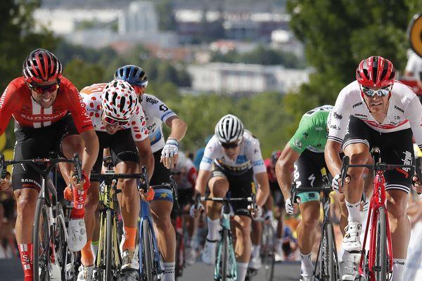 Le tracé du Tour de France 2019.