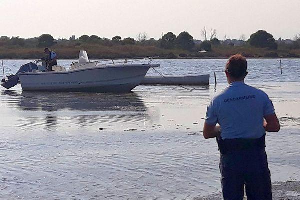 Le bateau volé retrouvé par les gendarme - 2018.