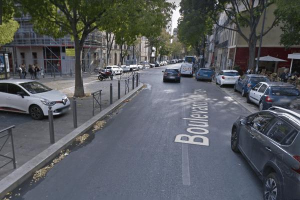 Le boulevard d'Arras où a eu lieu l'agression