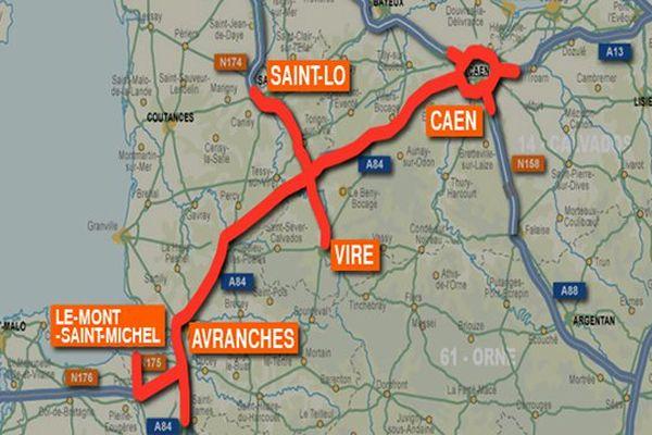 Un blocus de toute la Basse-Normandie