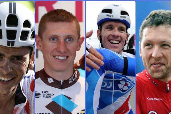 Warren Barguil, Cyril Gautier, Olivier Le Gac et Julien Simon, les quatre Bretons sélectionnés pour les Mondiaux de cyclisme sur route de Bergen en Norvège