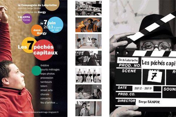 """""""Les 7 péchés capitaux"""" diffusés sur France 3 Bourgogne vendredi 11 octobre 2013 à 8h45"""