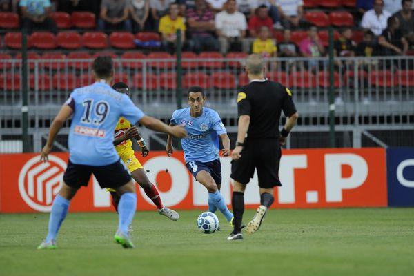 Le Tours FC en Coupe de la Ligue contre Orléans, le 11 août.