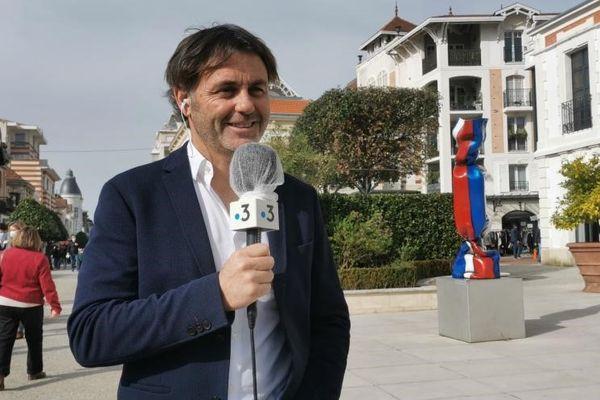 Yannick Bestaven, dernier vainqueur du Vendée Globe était l'invité du 12/13  sur France 3 Aquitaine ce vendredi 19/02/21.