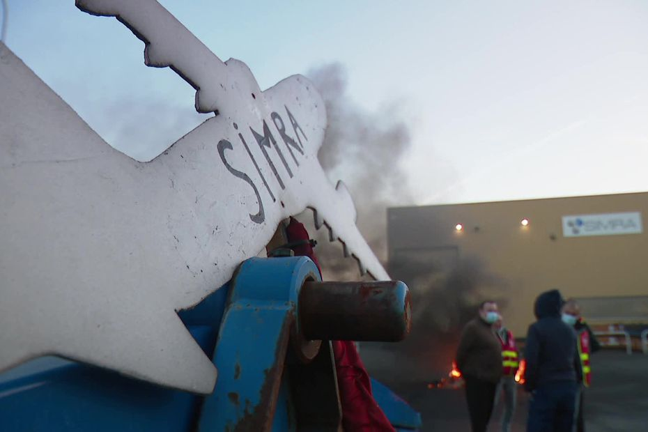Crise de l'aéronautique : la fermeture de la Simra d'Albert officialisée, 105 personnes licenciées - France 3 Régions