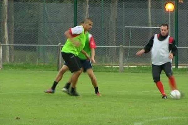 Le Limoges FC à l'entraînement