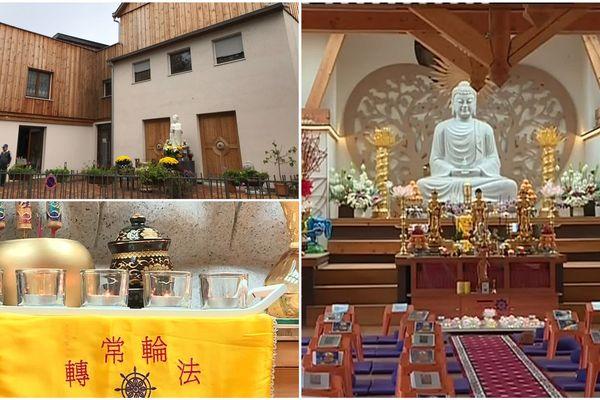 La pagode bouddhiste de la Robertsau.