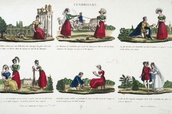 Des bande dessinées datant du 19e siècle sont présentées au Musée de l'Image d'Épinal.