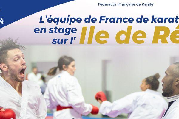 Le stage de préparation aura lieu du 25 au 29 avril 2018 sur l'île de Ré