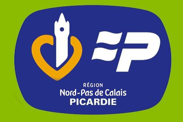 Un mélange des logos des régions Nord Pas-de-Calais et Picardie.