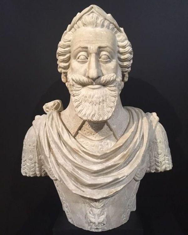 Buste d'Henri IV