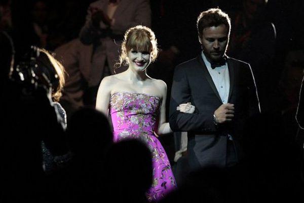 Le festival du cinéma américain a rendu hommage ce vendredi soir à l'actrice Jessica Chastain.