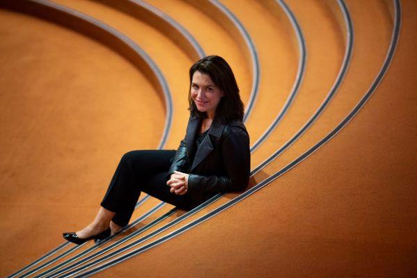 La présidente de la région Pays de la Loire  Christelle Morancais, le 5 octobre 2020 à Nantes