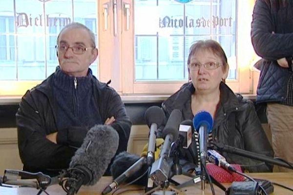 les grands-parents de Lucas, le nouveau-né enlevé à Nancy