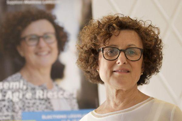"""Maria Guidicelli, candidate de """"La Republique En Marche"""" dans la 1ère circonscription de Corse du Sud"""
