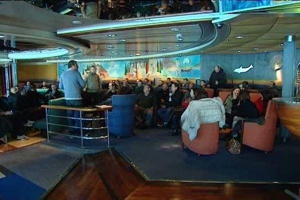 Les marins du STC étaient réunis en assemblée générale ce mercredi matin.