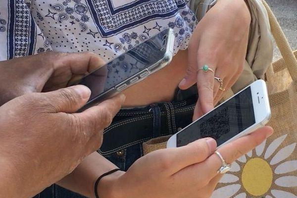 Vous pouvez faire scanner votre ticket directement sur votre téléphone.